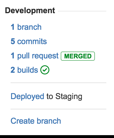 Bamboo and Jira integration